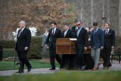 The End of a Journey: Family Receives Billy Graham's Casket in Charlotte