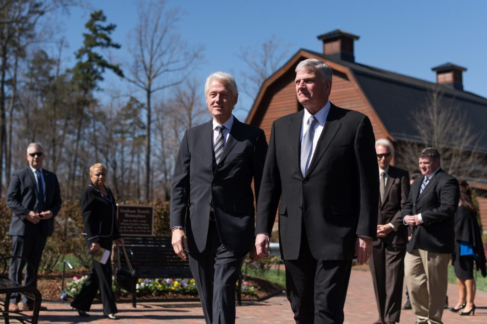 President Clinton and Franklin Graham