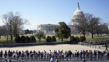 Thousands Line Up to See Billy Graham Lie in Honor at U.S. Capitol