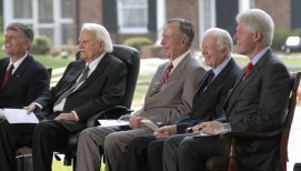 Billy Graham's 'Thank You' to U.S. Presidents