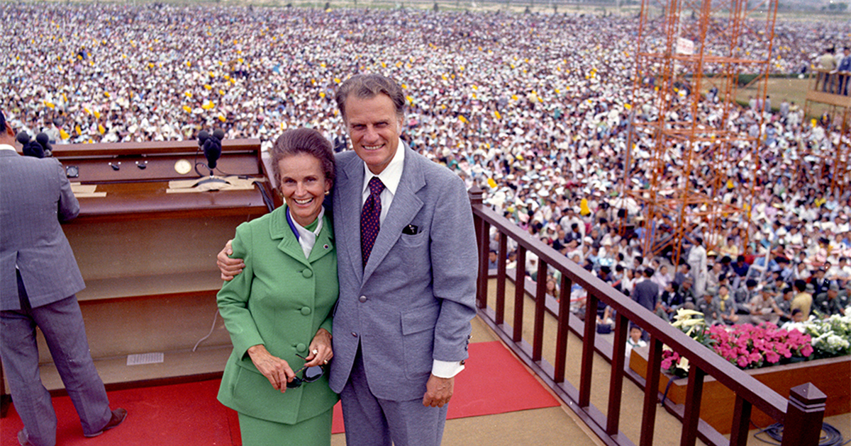 Photos Billy S Graham S Historic Crusade In Seoul South
