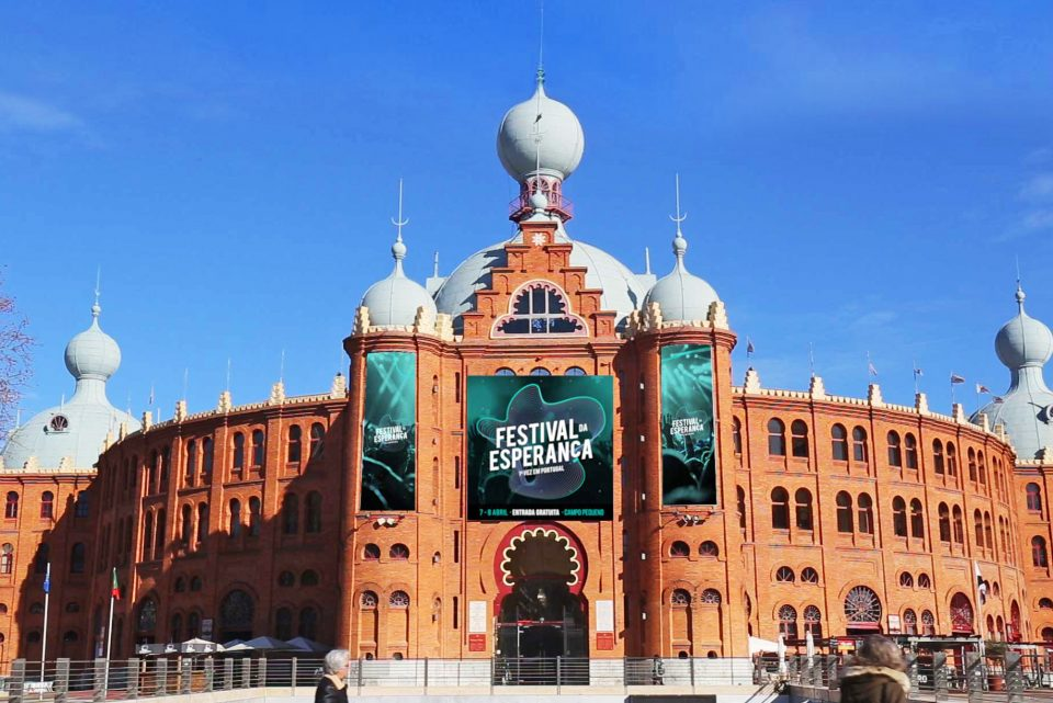 The Festival venue: Campo Pequeno in Lisbon, Portugal