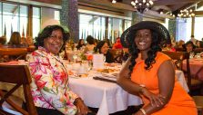 A Packed House for Billy Graham Library's Ladies Tea and Tour