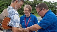 Chaplains Comfort Hawaiian Community After Ruinous Volcanic Eruptions