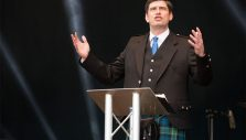 Evangelist Will Graham Holds Central Scotland Will Graham Celebration of Hope in Falkirk