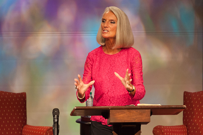 Anne Graham Lotz speaking