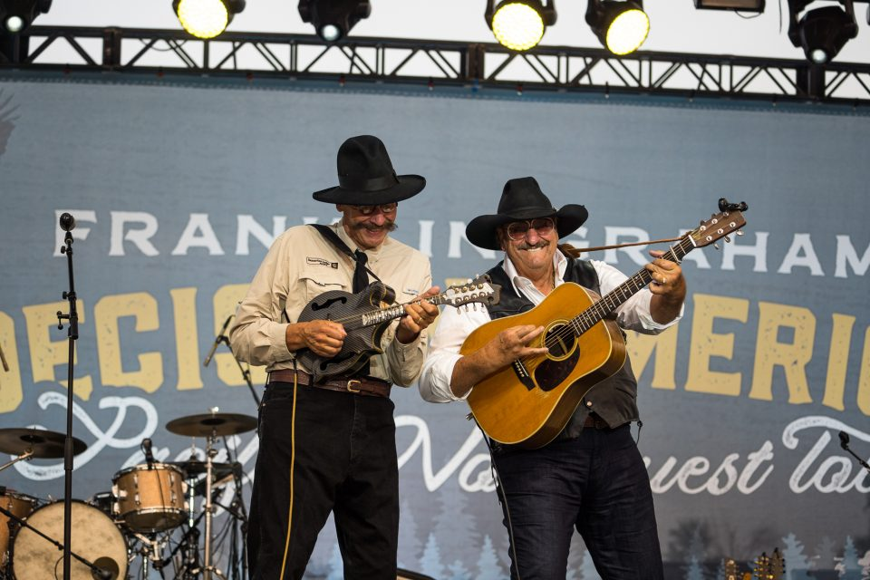 Danny and Dennis Agajanian perform