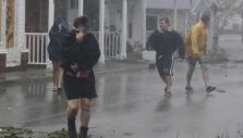 East Coast Residents Face Catastrophic Flooding, Power Outages as Florence Hovers