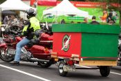 Photos: 11th Annual Bikers with Boxes at the Billy Graham Library