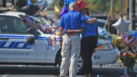Florence Community Seeking Answers, Peace as Fallen Officer Laid to Rest
