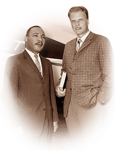 Image result for billy graham and martin luther king jr