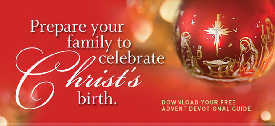 Prepare your family to celebrate Christ's birth