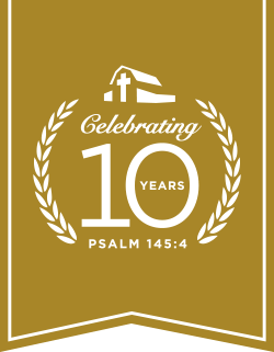 Billy Graham Library 10th Anniversary Logo