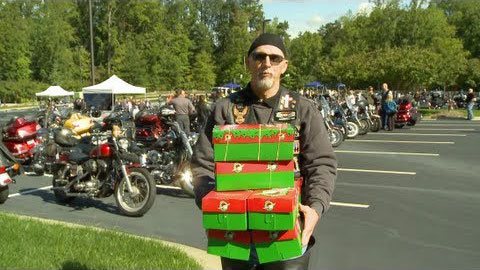 Bikers With Boxes